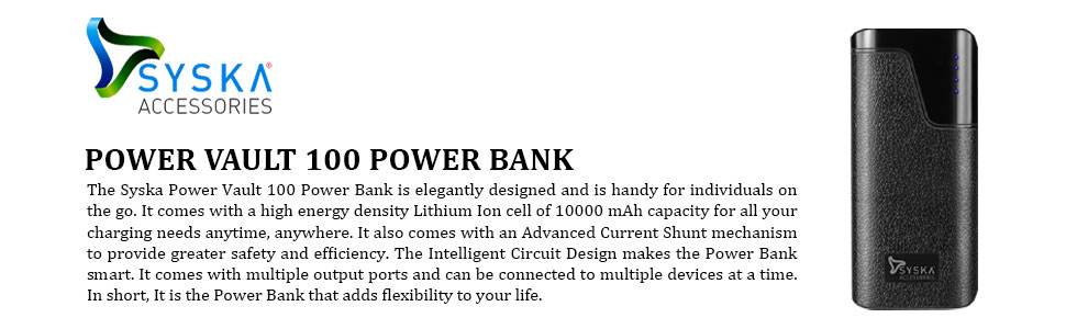 POWER VAULT 100