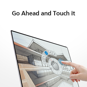go ahead and touch it 3k touchscreen