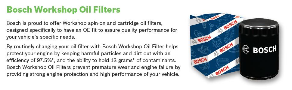 Filters Bosch 72270WS Oil Filter