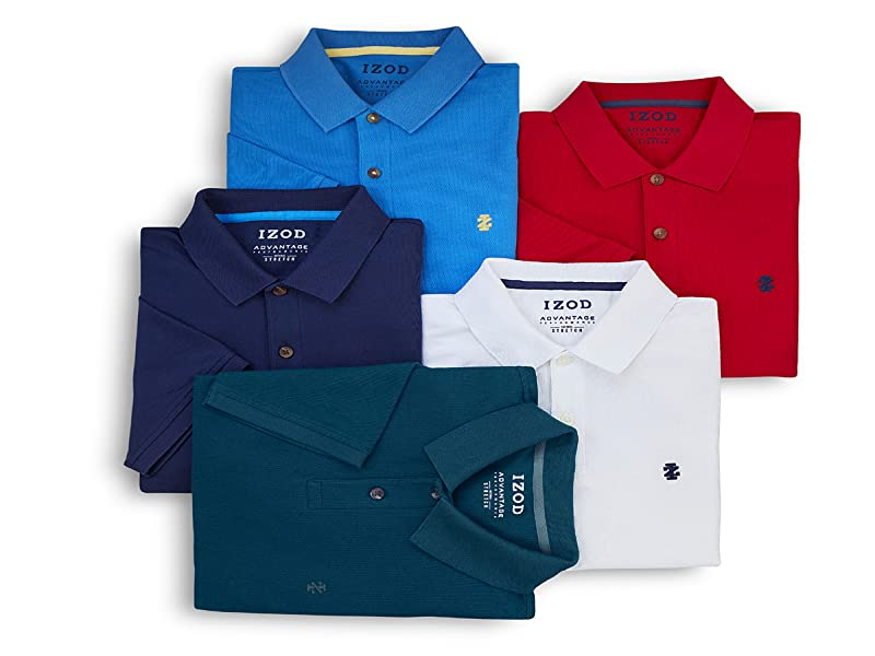 7e0b5125 IZOD Men's Big and Tall Advantage Performance Solid Polo Shirt at ...
