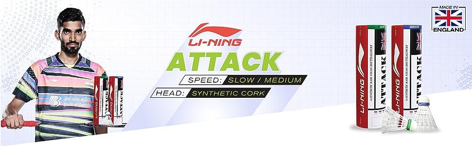 Li-Ning, lining, nylonshuttlecock