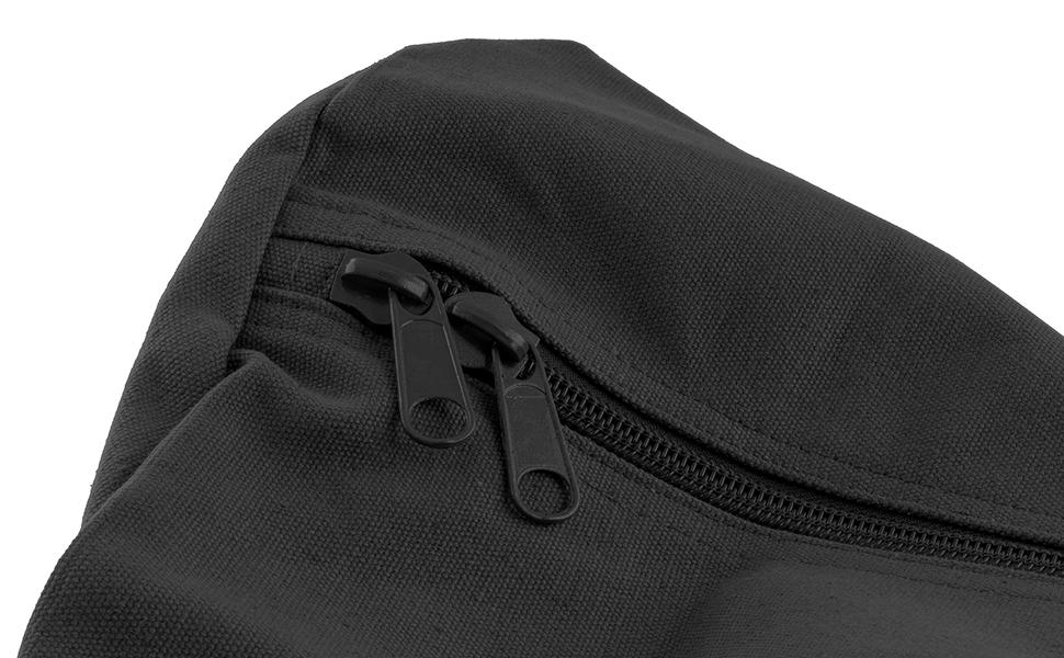 zippered military duffle bag