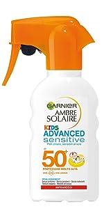 spray solare, spray protezione solare, spray per bambini, protezione solare per bambini
