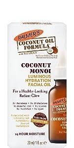 Coconut Monoi Facial Oil Luminous Face Hydrating Hydration