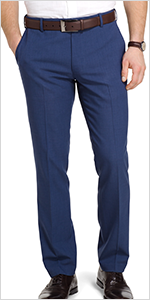van heusen, mens pants, travel pants, slim fit pant for men