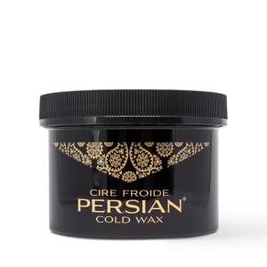 Persian Cold Wax Kit, Hair Removal Sugar Wax for Fine to Medium Hair