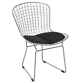 Mod Made Chrome Wire Side Chair