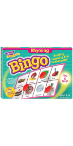 Trend T6067 Young Learner Bingo Game Rhyming Words (TEPT6067)