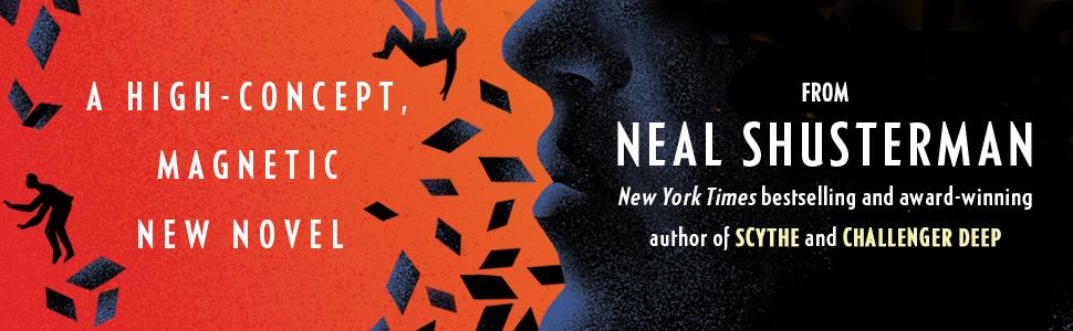 high concept novel, scythe, challenger deep, neal shusterman