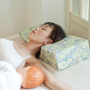 添い乳枕 Joy-chichiジョイチチ 頭部用枕 低い部分 メリット 左右どちら向きでも使用可