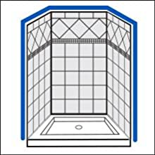 How to Measure Your Shower Space - Step 1