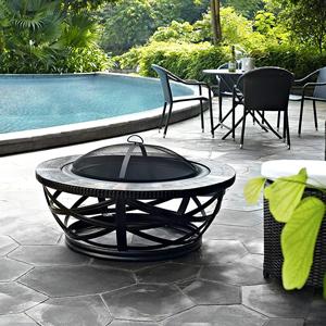 Amazon com : Crosley Furniture Glendale Round Outdoor Slate