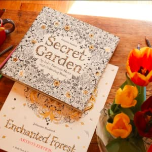 Secret Garden Artist's Edition: A Pull-Out and Frame Colouring ... | 300x300