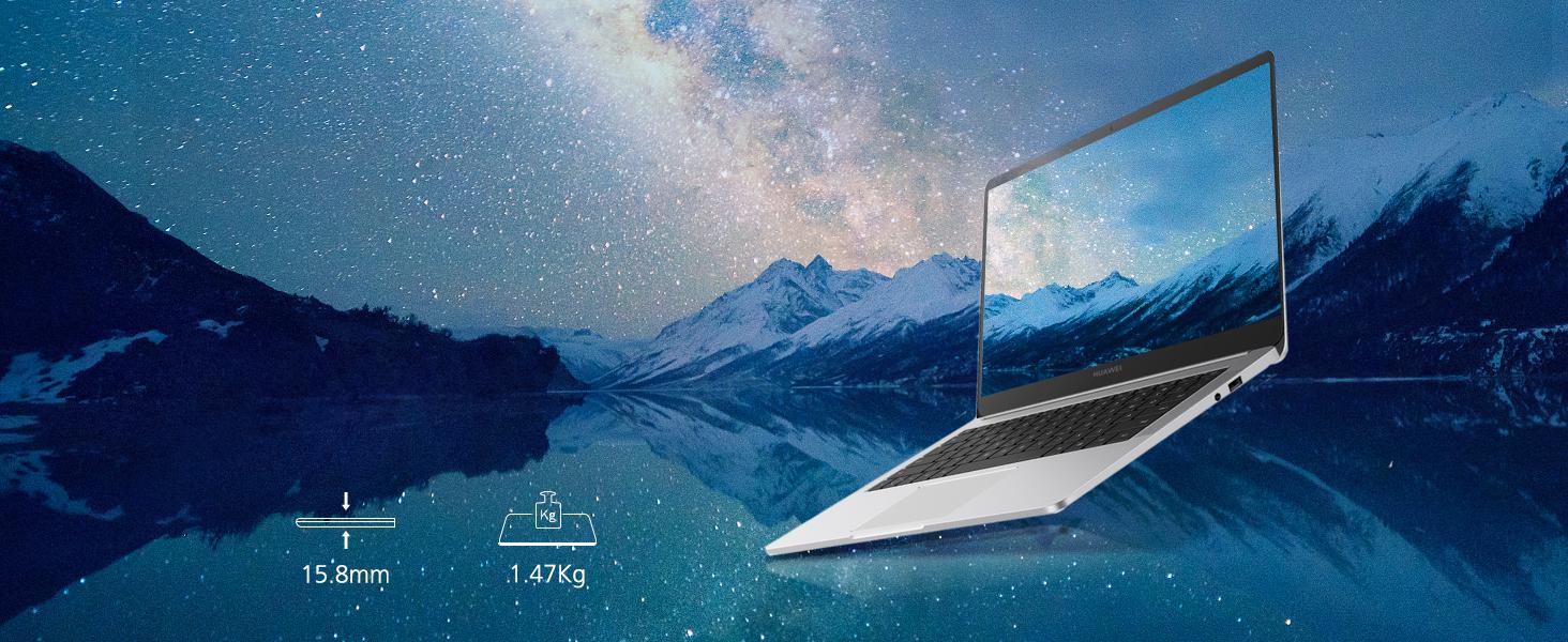 Huawei Matebook D - Ordenador portátil ultrafino 14