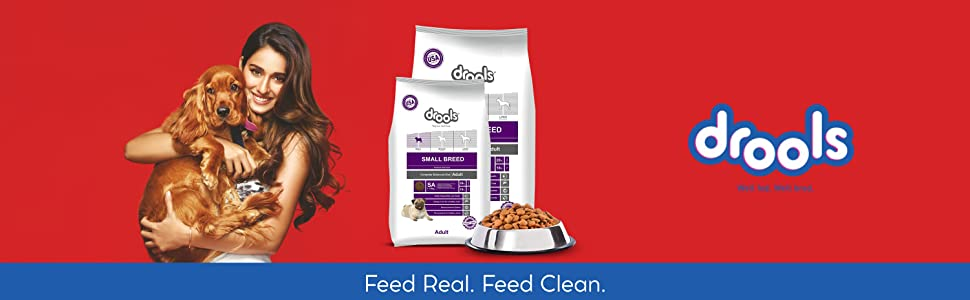 Drools Small Breed Adult, Premium Dog Food, 1.2kg