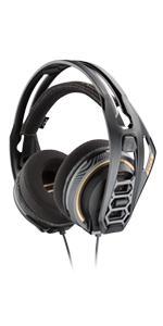 Amazon com: Plantronics Gaming Headset, RIG 800HD Wireless