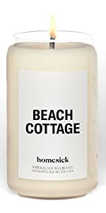 Beach Cottage, Homesick, Candle, States, Cities, personalized gift, housewarming gift, home, decor