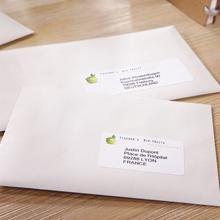 etiquette blanche, étiquettes Blanches laser, étiquettes, etiquette, adressage