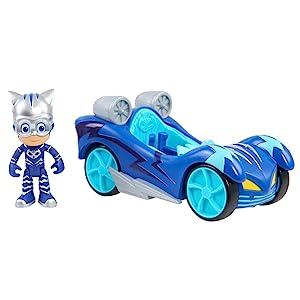 new pj masks vehicles, new pj masks cars, hotwheels, matchbox, super hero figures, disney jr playset