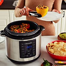 Crock-Pot Olla Multicooker Express, Negro: Amazon.es: Hogar