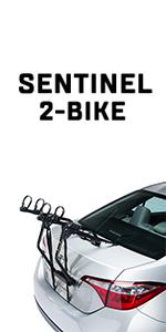 Saris Sentinel 3 Bike Trunk Mount Rack Bicycle Carrier Car Attachment 3 Bikes