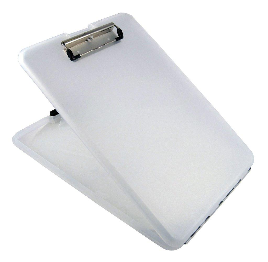 amazon com   saunders slimmate plastic storage clipboard