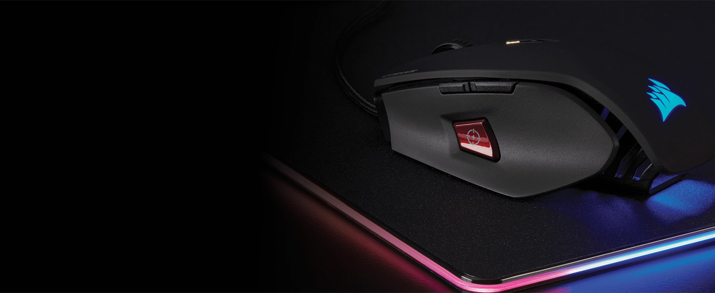 M65 PRO RGB FPS Gaming Mouse — Black
