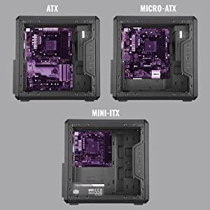 Minimized Dimensions, Standard ATX Support
