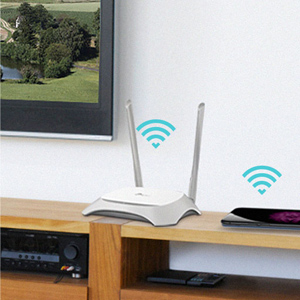 TP-link TL-WR840N 300 Mbps Wi-Fi WiFi Wireless Speed Coverage N300 Antenna Parental Control Router