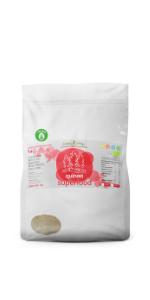 Harina de Quinoa Ecológica (1 Kg): Amazon.es: Alimentación y ...