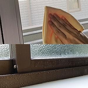 マイクロファイバー 窓 結露取り 結露 除湿 水切り スクイジー