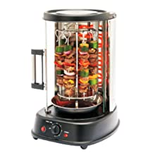 Nutrichef Countertop Vertical Rotating Oven Rotisserie