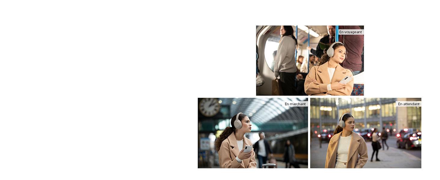 Sony WH-1000XM4, WH1000XM4, 1000XM4, casque bluetooth, casque sans fil, contrôle adaptatif, son