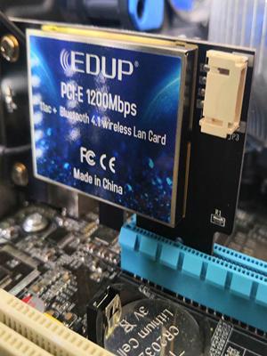 Amazon.com: EDUP PCIE Wireless WiFi Network Card AC1200Mbps ...