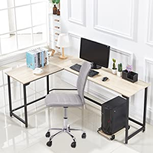 Give Your Home Office A Fresh, Stylish Look With This Modern Desk!