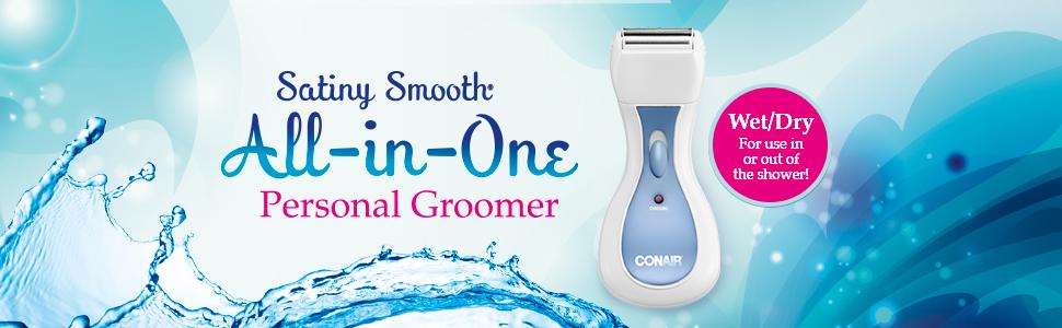 Conair ltgs40 bikini trimmer for women eyebrow trimmer lady shaver ladies shaver