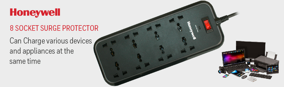 8 Socket Surge Protector-Value