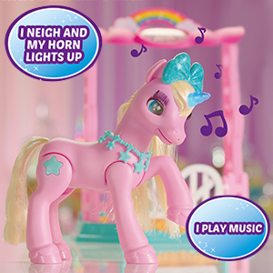 musical unicorn, fun unicorn