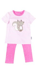 Sigikid - Pijama para niña, color rosa