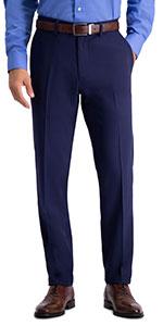 Slim fit pant, Slim fit suit separate pant, mens suit pant, Active Series pant, Haggar
