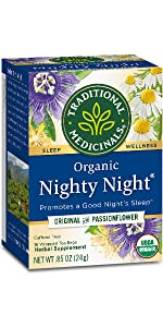Traditional Medicinals Organic Nighty Night Relaxation Tea