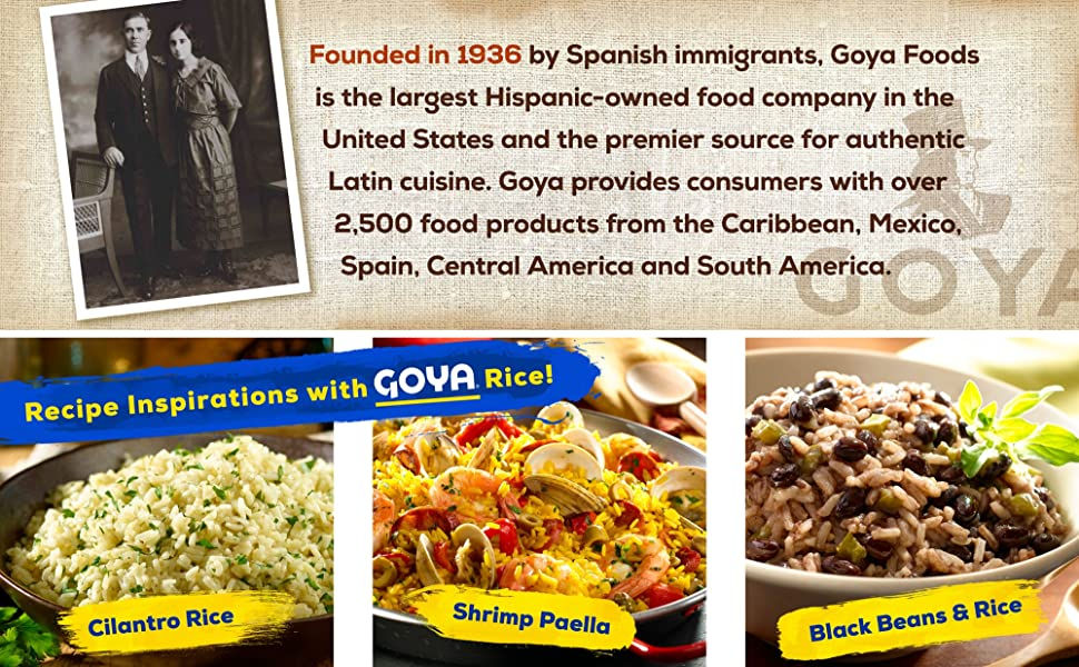 About Goya Foods and Recipe Inspirations
