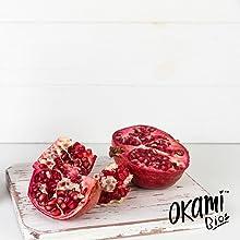 Okami Bio | Zumo De Granada | Alto Poder Antioxidante ...