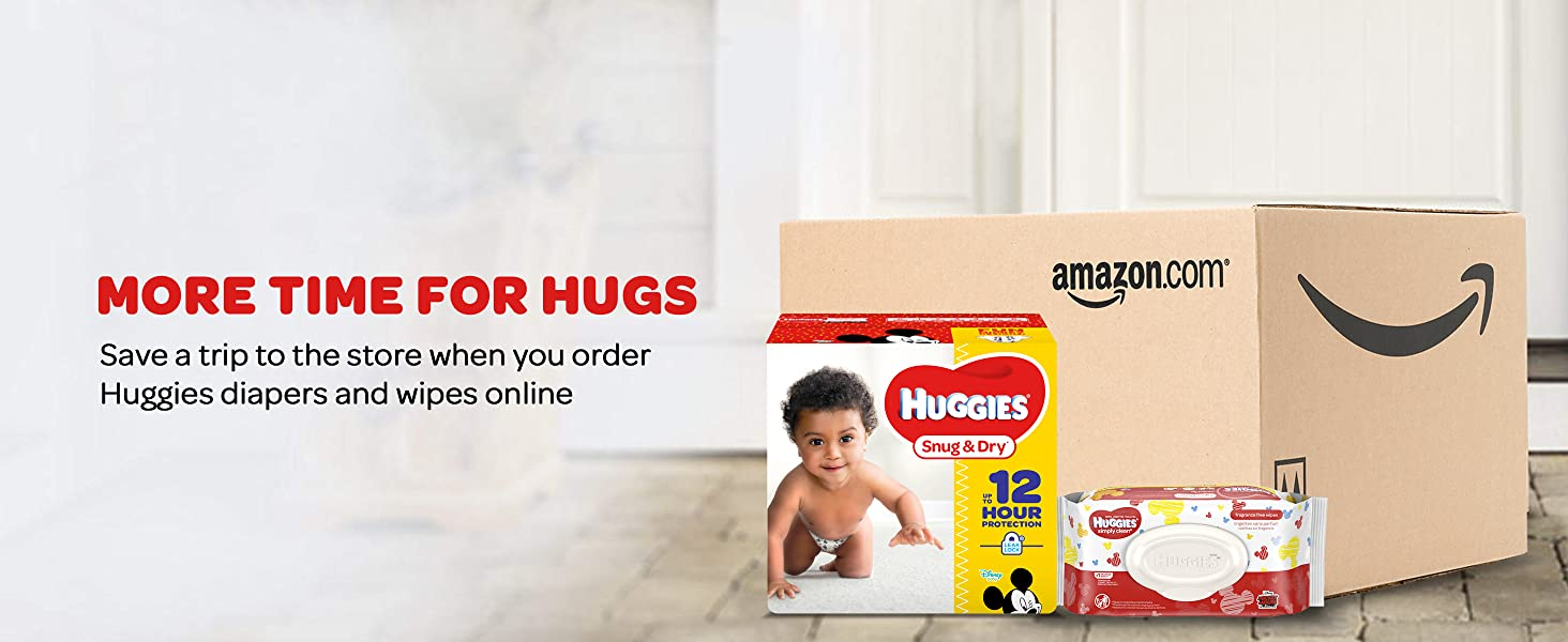 Huggies Little Snugglers Baby Diapers - Save Time and Money with Amazon Subscribe & Save