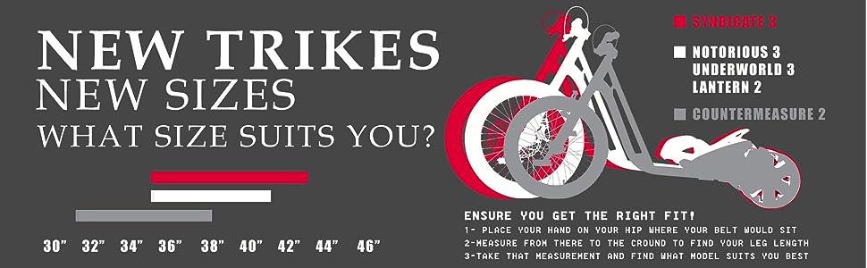 Amazon.com: Triad Syndicate 3 Drift trike triciclo: Sports ...