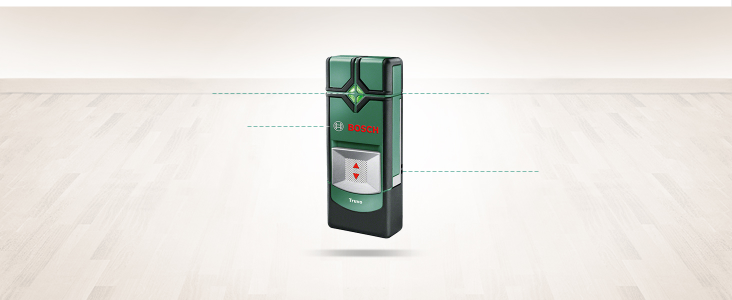 Bosch UNIVERSALDETECT câble tuyau en bois et détecteur
