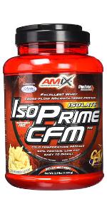 AMIX Isoprime CFM Isolate - 1 Kg Doble Chocolate blanco ...