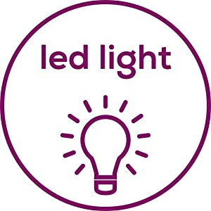 Extra helles LED-Licht - dimmbar