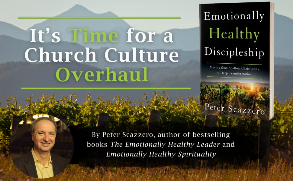 Amazon.com: Emotionally Healthy Discipleship: Moving from Shallow Christianity to Deep Transformation (Audible Audio Edition): Peter Scazzero, Peter Scazzero, Zondervan: Audible Audiobooks