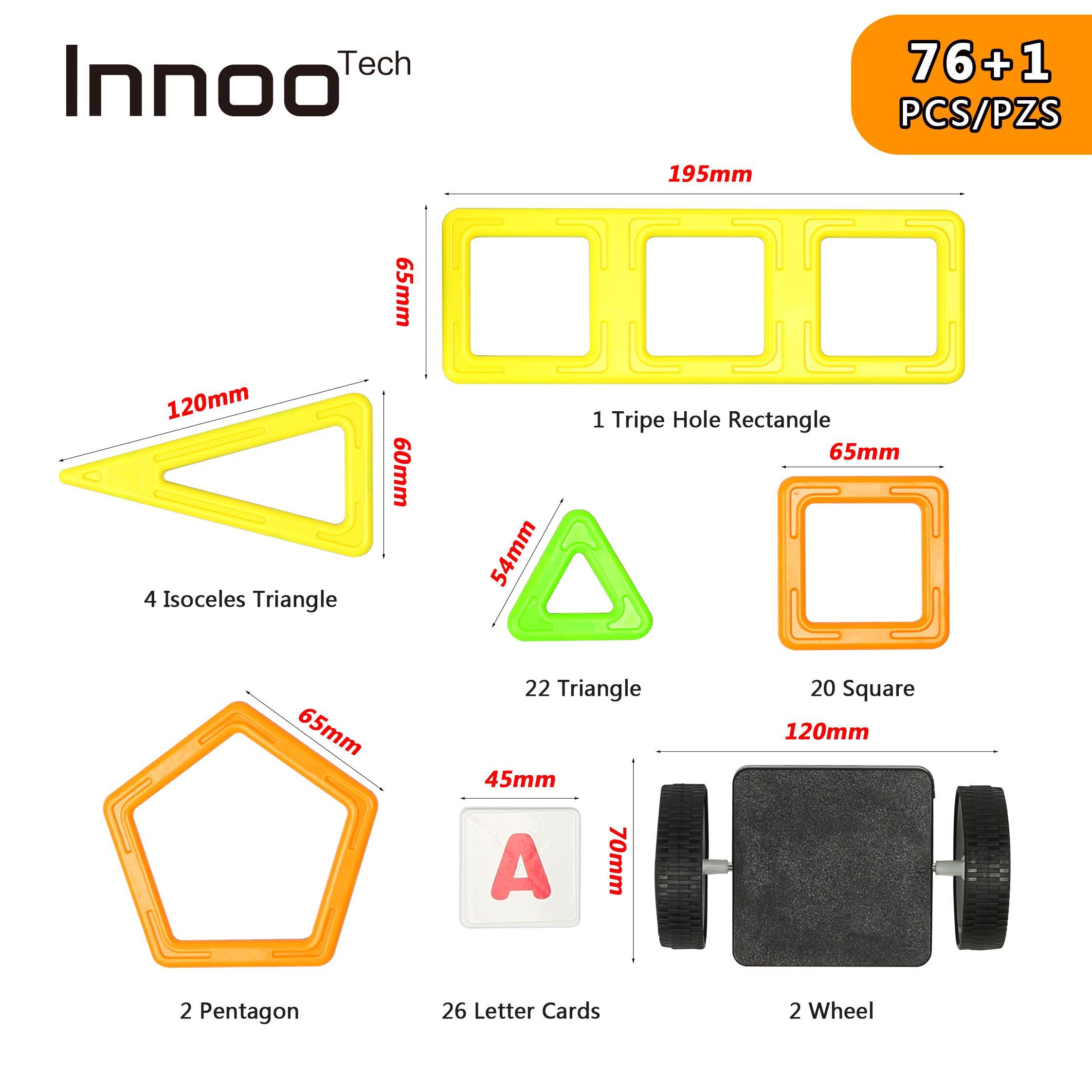 Innoo Tech Magnetic Building Blocks